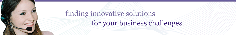 finding innovative solutions for your business challenges...